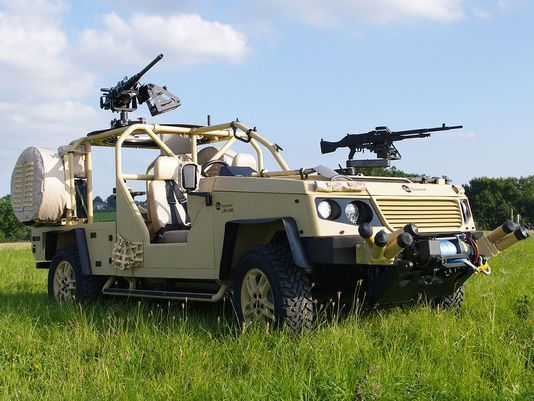 LRV 400 Mk2 Recon Vehicle - photo Supacat