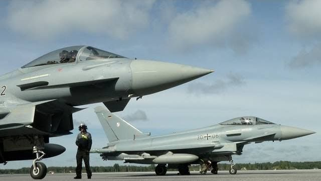 NATO Air Policing: Deutsche Eurofighter fliegen im Baltikum