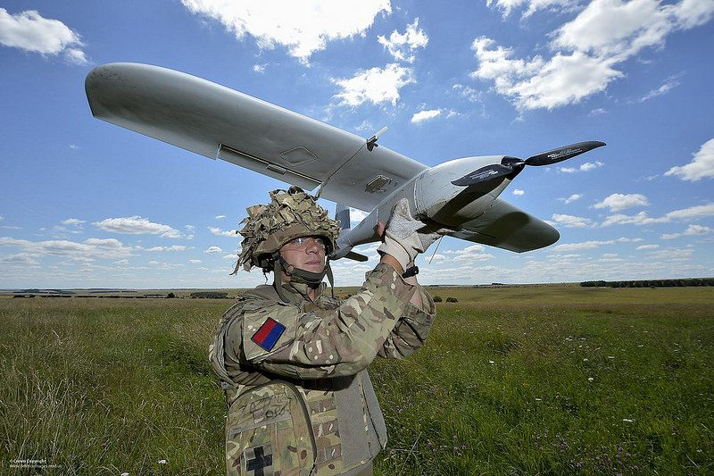 Desert Hawk 3 UAS (Unmanned Air System) - photo UK MoD