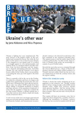 Ukraine's other war