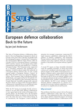 European defence collaboration – Back to the future