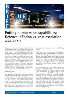 Putting numbers on capabilities: defence inflation vs. cost escalation