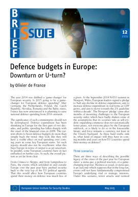 Defence budgets in Europe: downturn or U-turn?