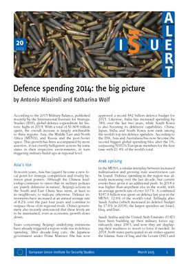 Defence spending 2014: the big picture
