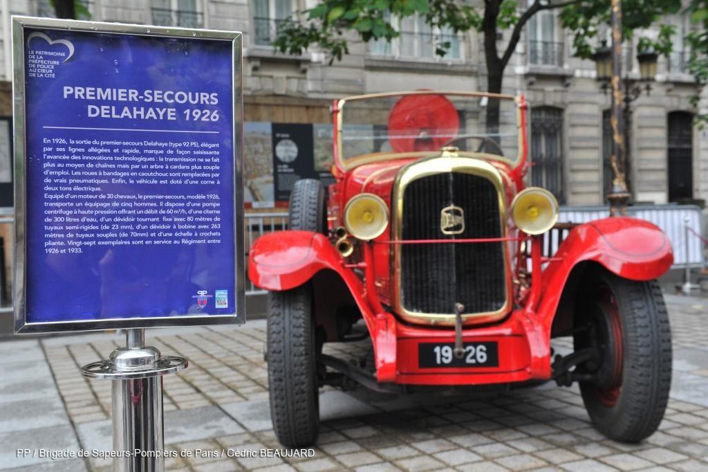 Le programme pour les journées européennes du patrimoine de la BSPP