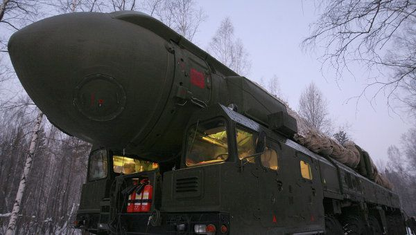 Missile balistique intercontinental Topol-M photo RIA Novosti. Alexander Kriazhev