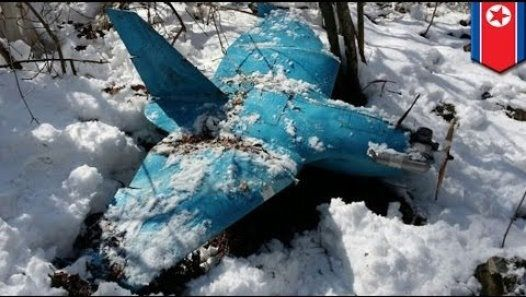 A drone found crashed in South Korea (Photo: Korean Ministry of Defense)