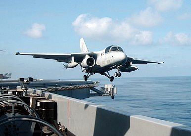 S-3 Viking anti-submarine warfare (ASW) aircraft - photo US Navy