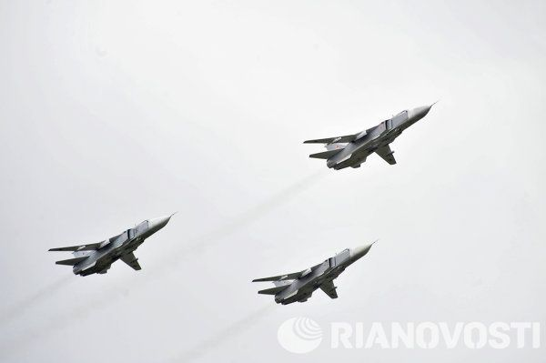 Su-24 (code Otan Fencer) aircraft