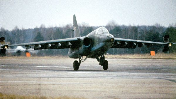 Su-25 Frogfoot ground attack aircraft