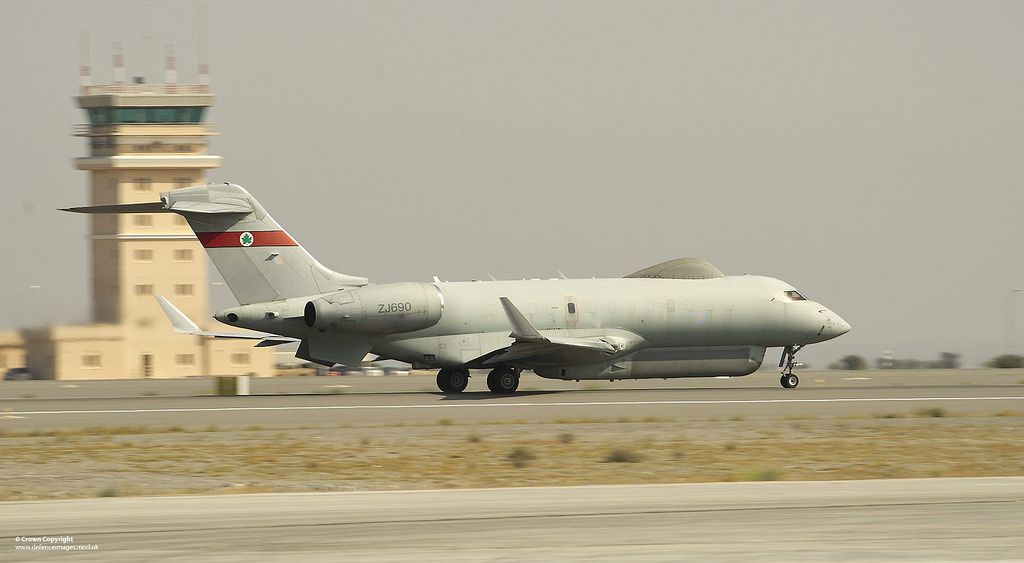 Sentinel R1 surveillance aircraft - photo UK MoD