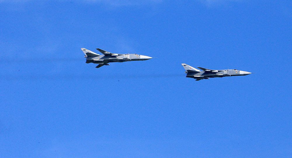 Su-24 bombers - photo Sputnik