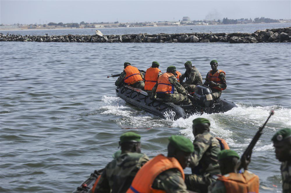 U.S., Senegal train on sea-to-land tactics