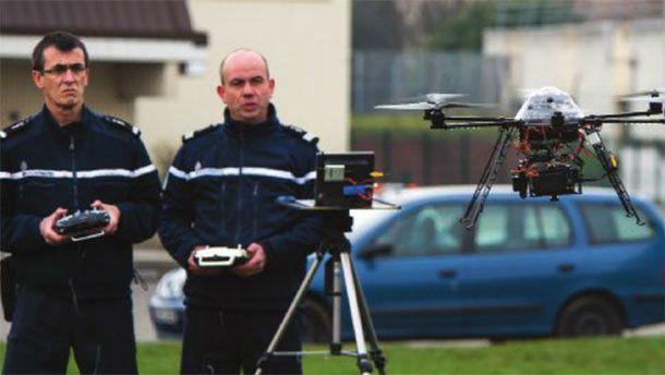 Les drones-gendarmes, c'est vraiment pour demain ?