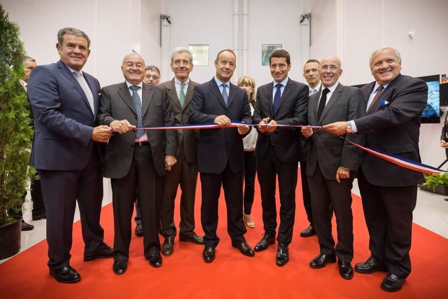 Thales Alenia Space openes a new optical integration production facility in Cannes. Photo Thales Group.