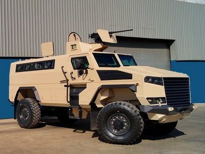 The new LM14 low cost armoured personnel carrier. LMT photo