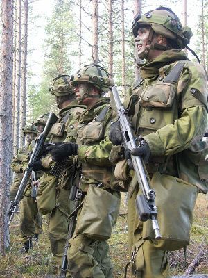 Norwegian Army has been receiving training equipment from Saab since 2003. Photo Saab AB