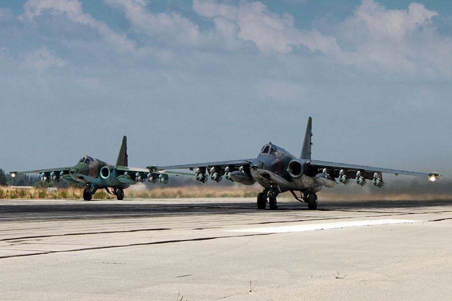 SU-25 - photo Russia MoD