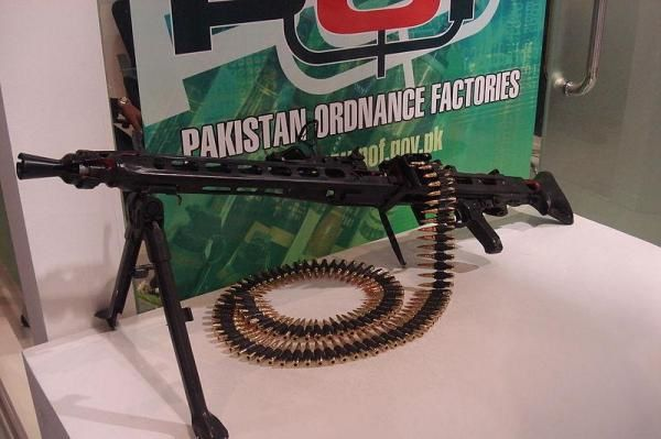 The Pakistani defense market specializes in small arms and ammunition. Photo by Paki90