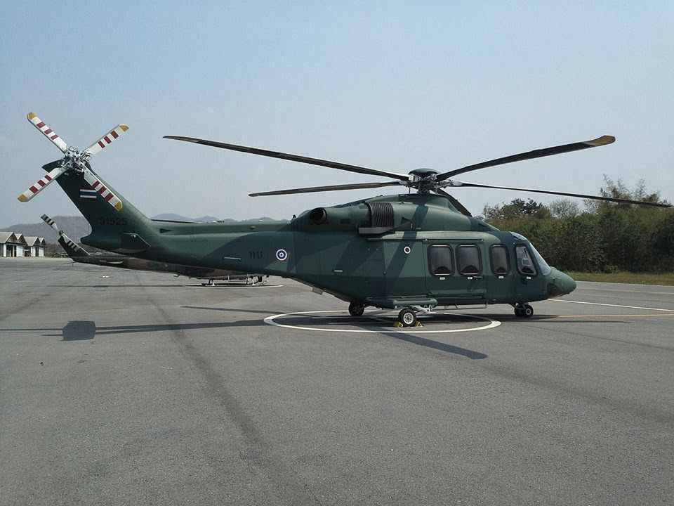 RTA AW-139 helicopter (photo : thaifighterclub)