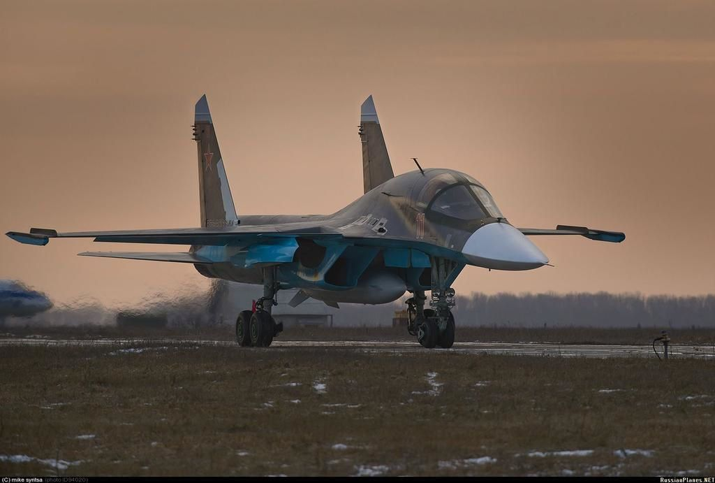 Sukhoi delivers new batch of Su-34 to Russia
