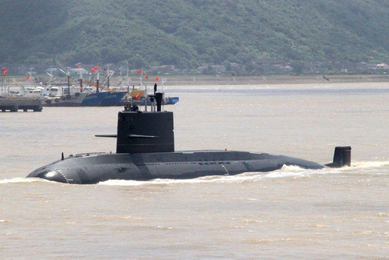 Yuan class submarine (photo : pixnet)