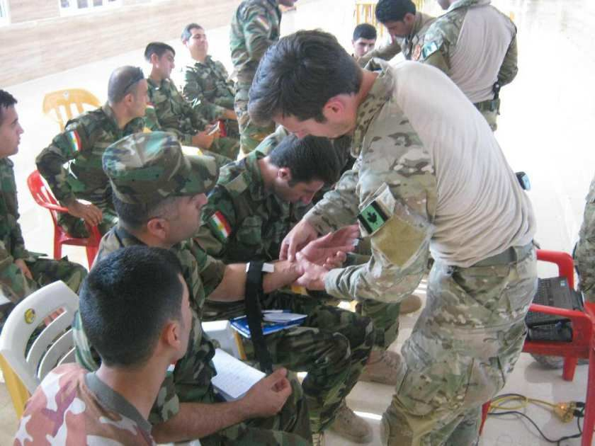 Testing for mustard gas exposure not needed for Canadian special forces in Iraq – Kurdish troops may have been exposed