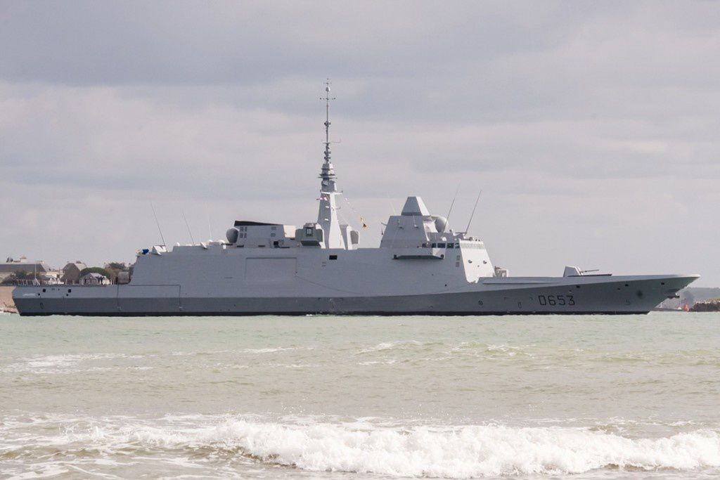 FREMM Languedoc photo DCNS