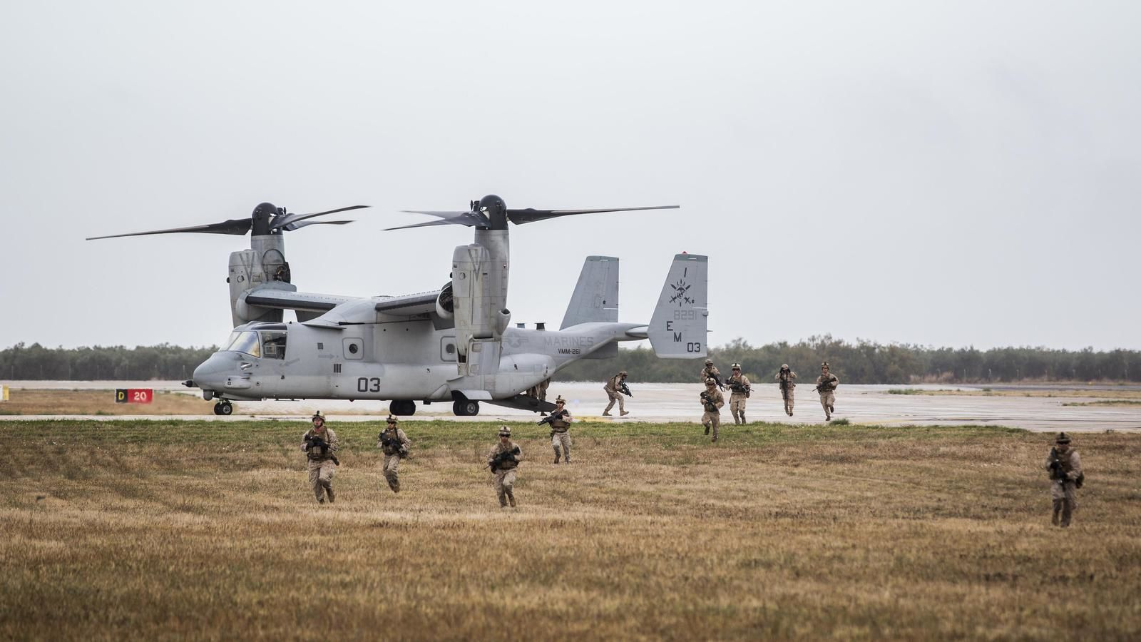 MV-22 Osprey at Morón Air Base - photo US DoD