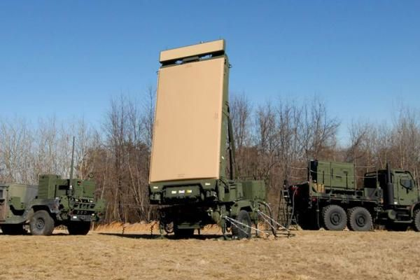 The U.S. Marines' G/ATOR radar system. Photo Northrop Grumman