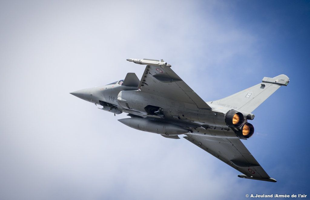 Rafale -photo Armée de l'Air