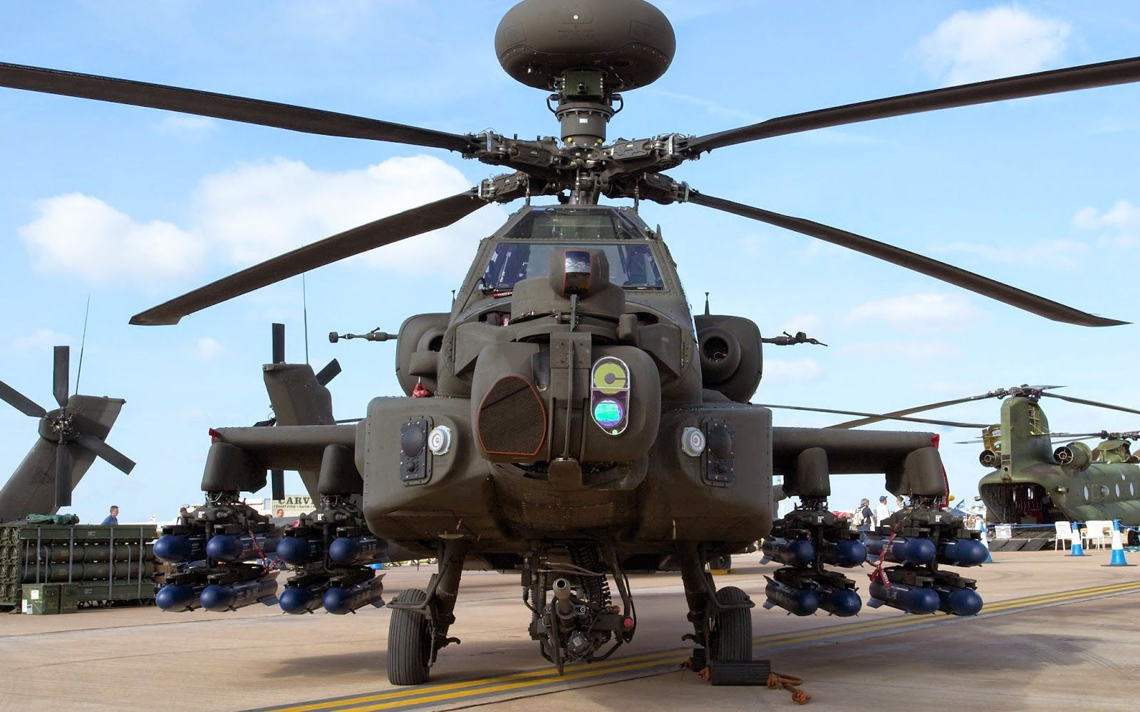 AH-64E helicopter - photo Boeing
