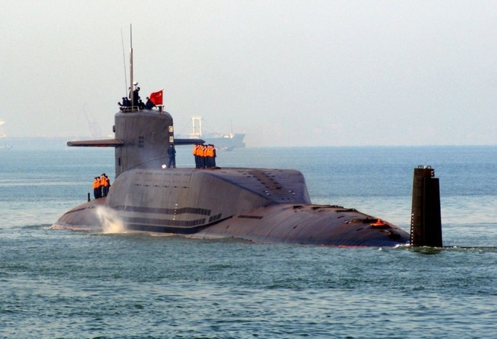 Type 094 Jin Class Nuclear-Powered Submarine