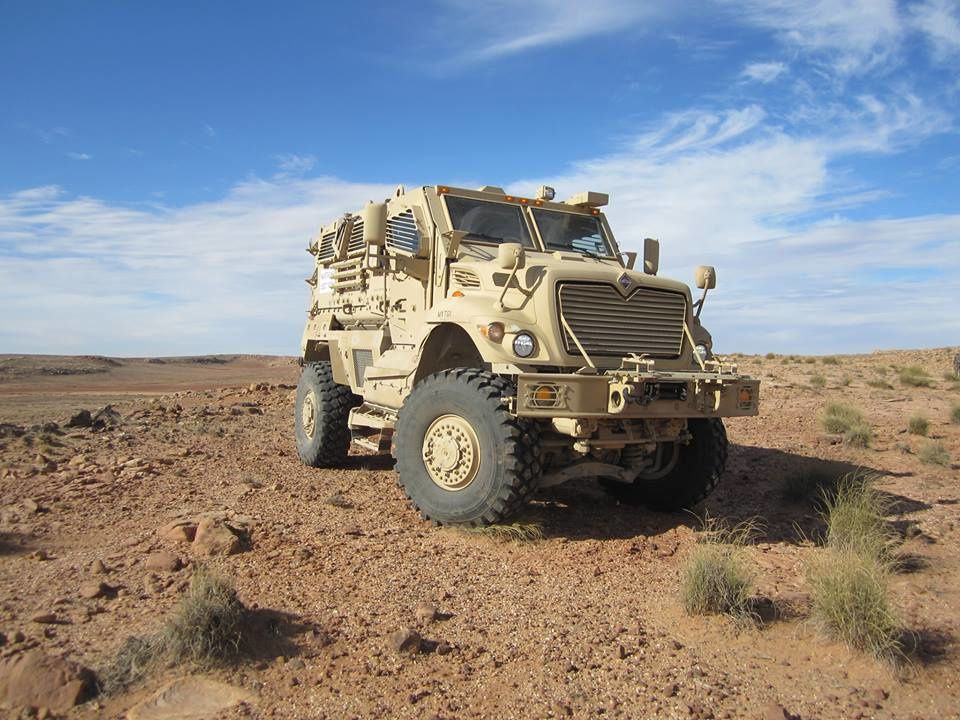 MaxxPro MRAP photo Navistar Defence