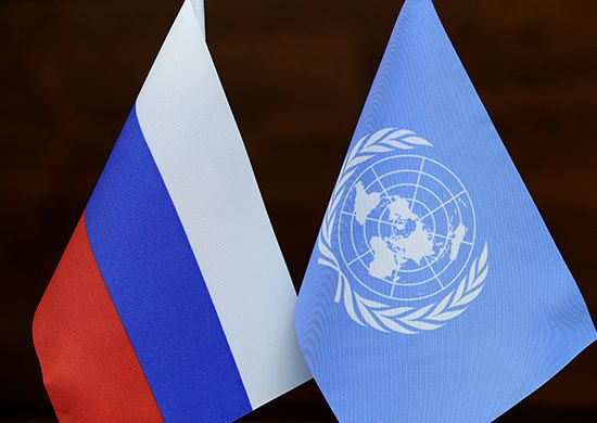Russian Deputy Minister of Defence Anatoly Antonov discussed the activities of the Russian Aerospace Forces in Syria with the UN representative