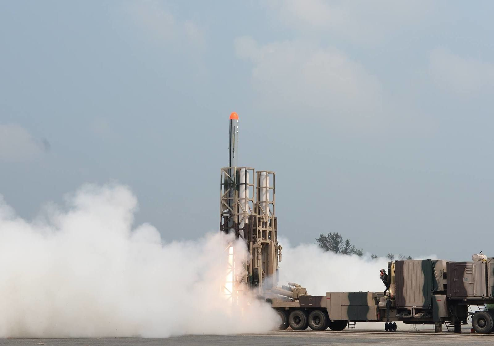 Nirbhay cruise missile launch photo Livefist