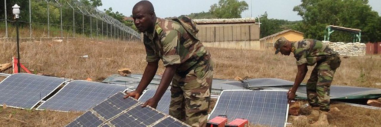 EDA installs energy management equipment at EUTM Mali camp