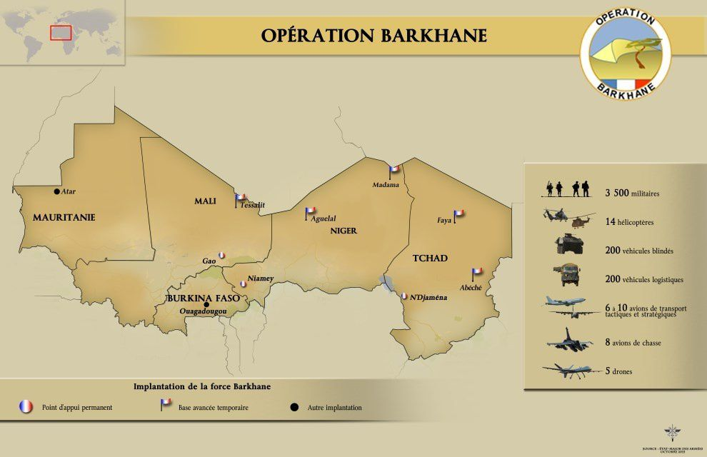 Barkhane : Point de situation au 15 octobre 2015 *