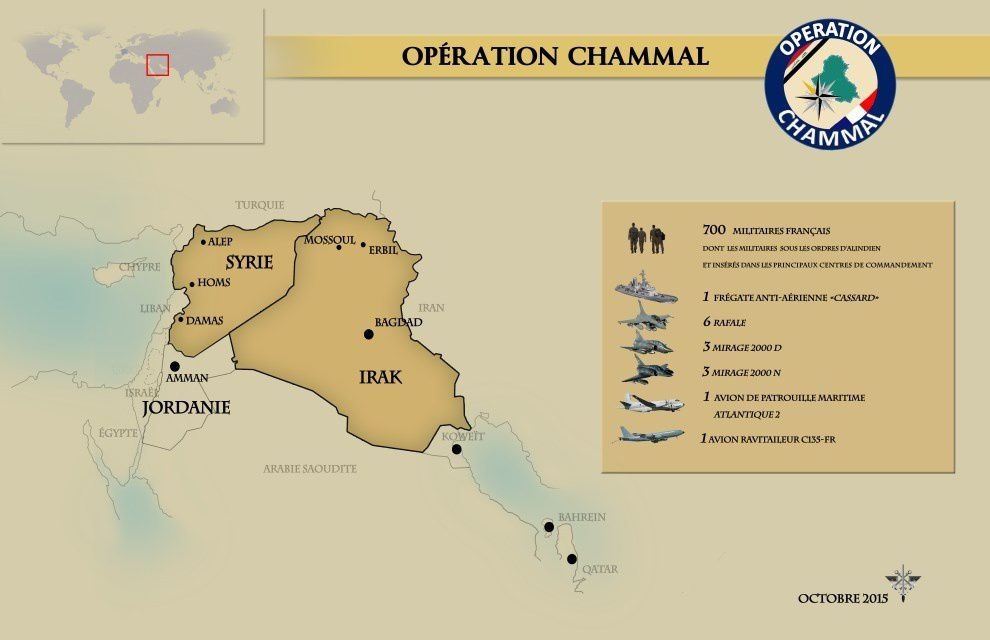 Chammal : Point de situation au 15 octobre 2015