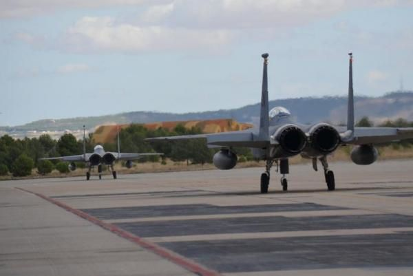 NATO Tactical Leadership Program in Albacete, Spain. U.S. Air Force photo