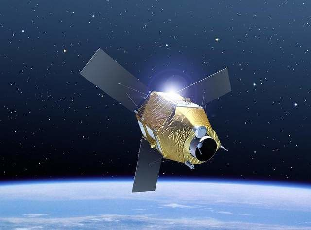 Falcon Eye UAE program - Pleiades satellite credits Airbus DS