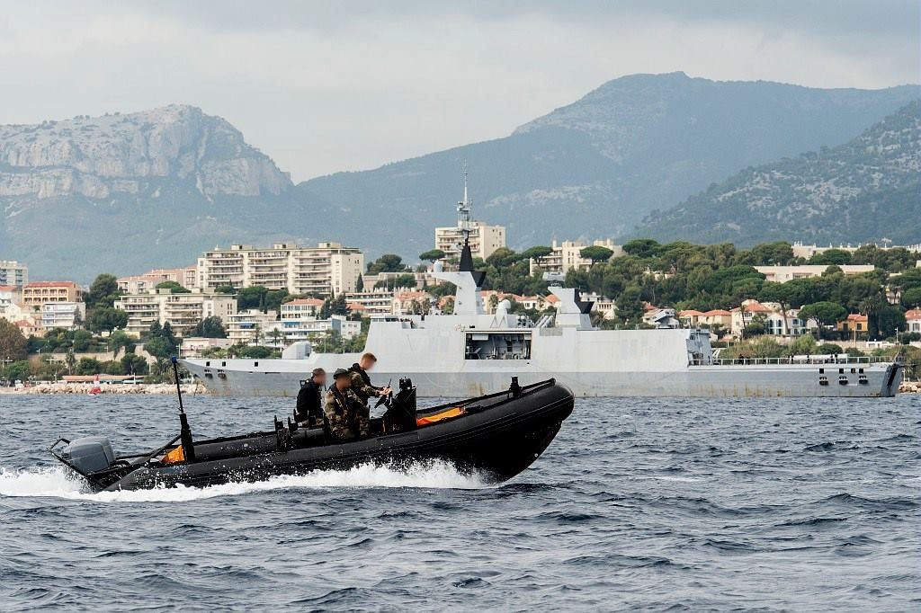 photo V. Orsini Marine nationale