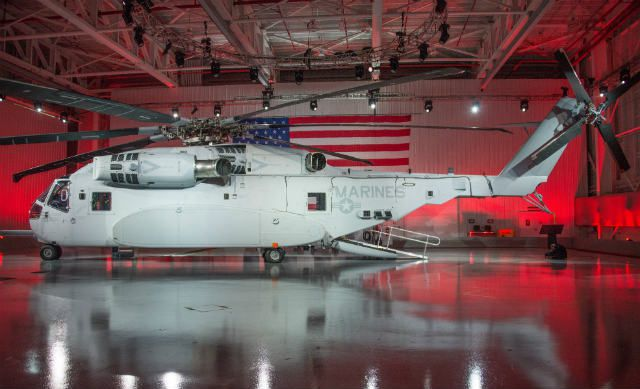 CH-53K is a monster machine - photo Sikorsky