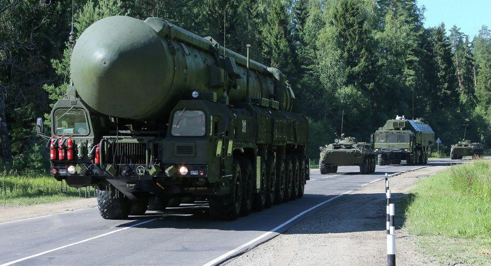 Yars ICBM photo Vadim Savitskii - Sputnik