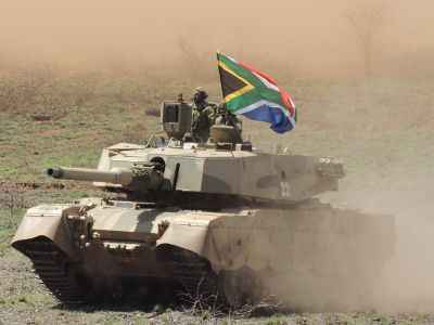 Landward force makes up over half of SANDF strength