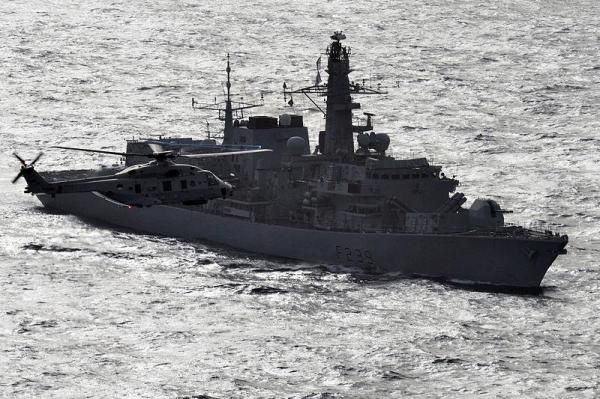 U.K. deploys Type 23 frigate HMS Richmond to stop migrant smuggling