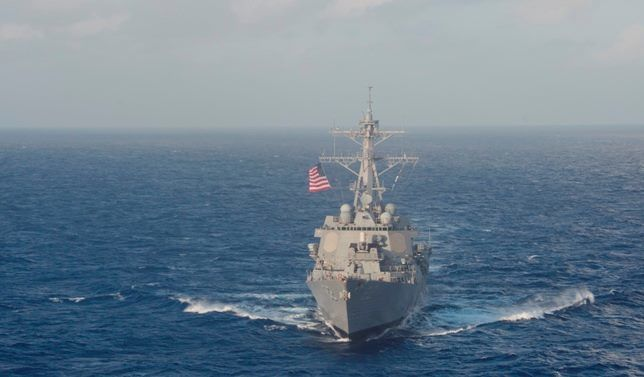 USS Lassen - photo US Navy