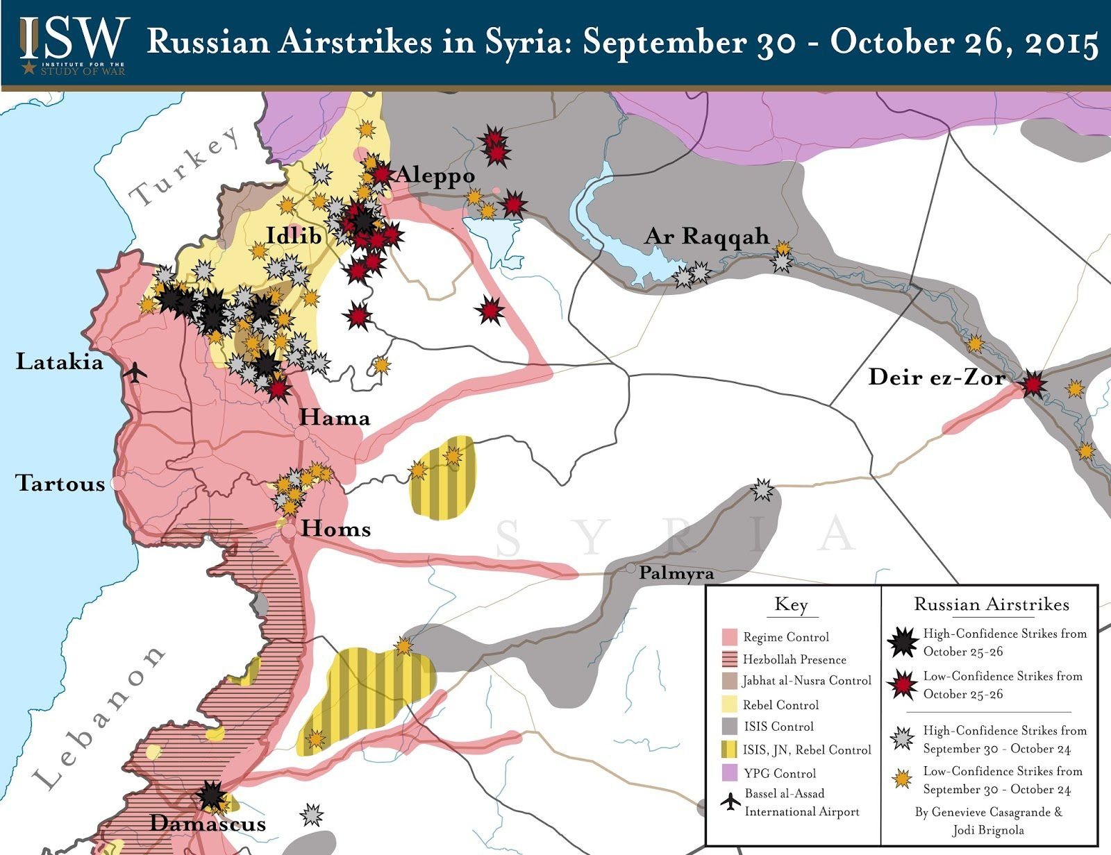 Syria: Russian Backed Advance Stalled