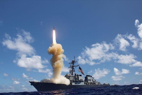 U.S. demos Standard Missile 3 in Europe