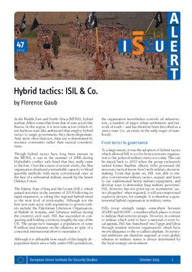 Hybrid tactics: ISIL & Co.